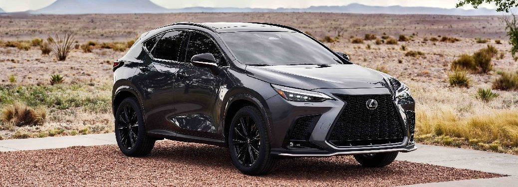 2022 Lexus NX from exterior front