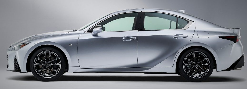 2021 Lexus IS from the driver's side