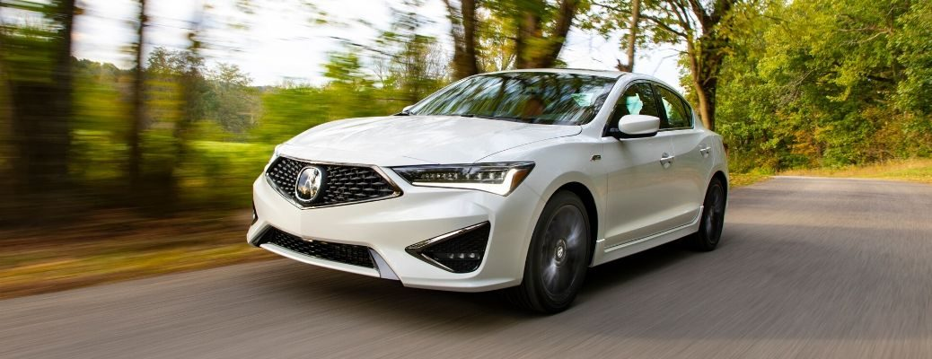 2019 Acura ILX driving on road