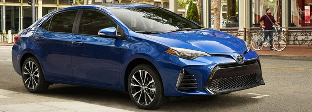 2019 Toyota Corolla in blue