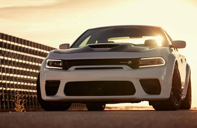 Dodge Charger parked on road
