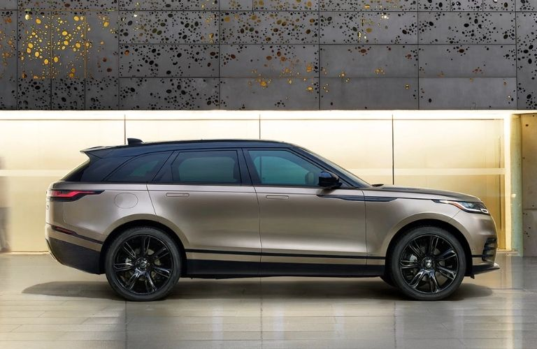 Land Rover Range Rover Velar parked in a show