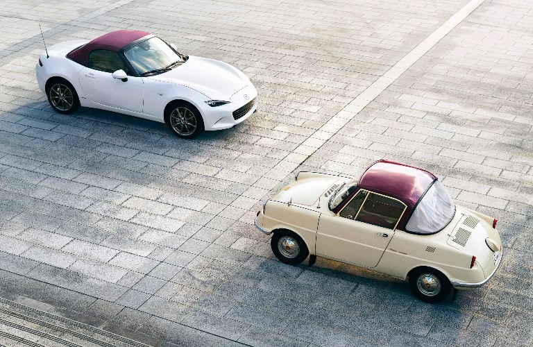 Mazda 100th Anniversary Edition Series with red top