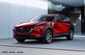 2020 Mazda CX-30 parked in the driveway