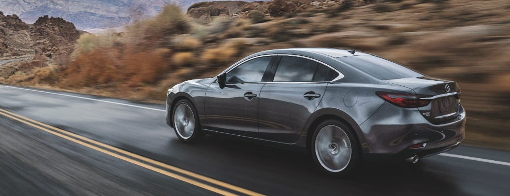 The classy 2021 Mazda6 is ready for the open road!