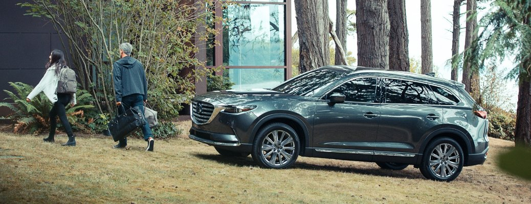 Learn more about the four trim level options the 2021 Mazda CX-9 is available in!
