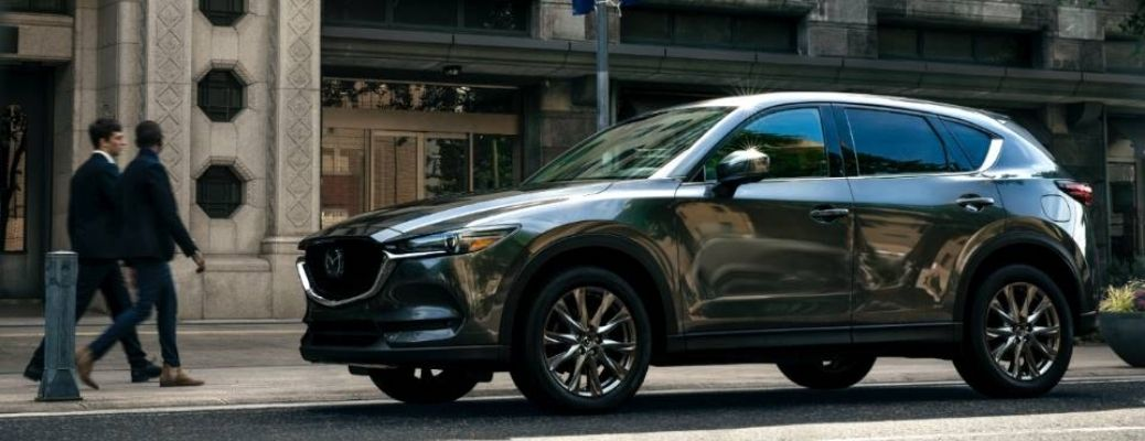 Sideview of the 2021 Mazda CX-5