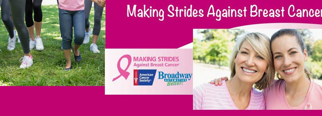 Broadway Automotive Making Strides Against Breast Cancer