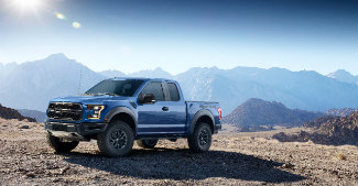 2017 Ford F-150 Raptor profile shot