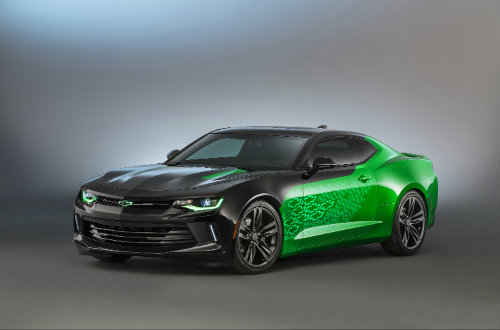 SEMA 2015 Chevy Camaro Krypton