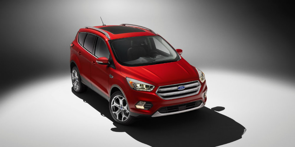 2017 Ford Escape from the front