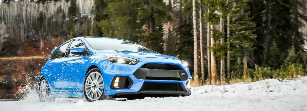 2016 Ford Focus RS Winter Wheel and Tire Package Release Date