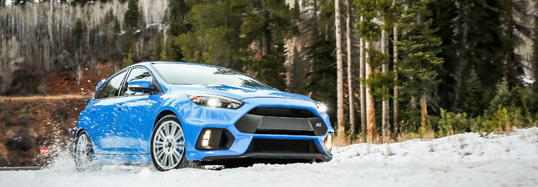 When Will the Ford Focus RS Winter Wheel and Tire Package Be Available?
