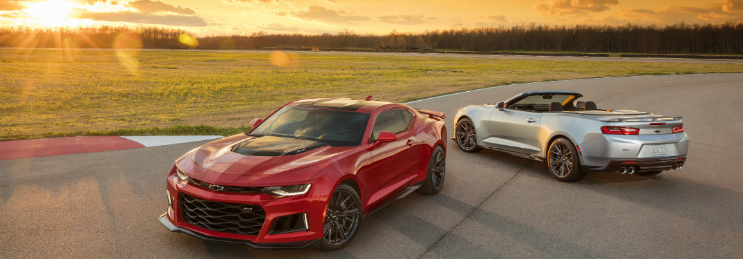 2017 Chevy Camaro ZL1 Performance Specs