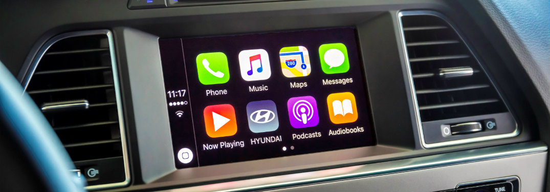 Apple CarPlay and Android Auto on the 2016 Hyundai Sonata