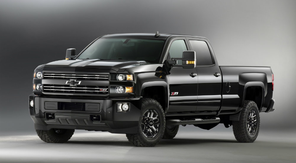 2016 Chevy Silverado 2500HD Midnight Edition
