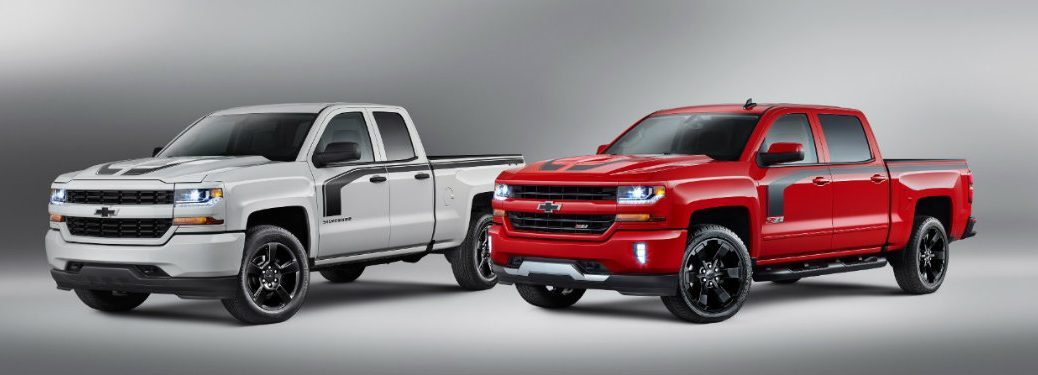 2016 Chevy Silverado Special Edition Trucks