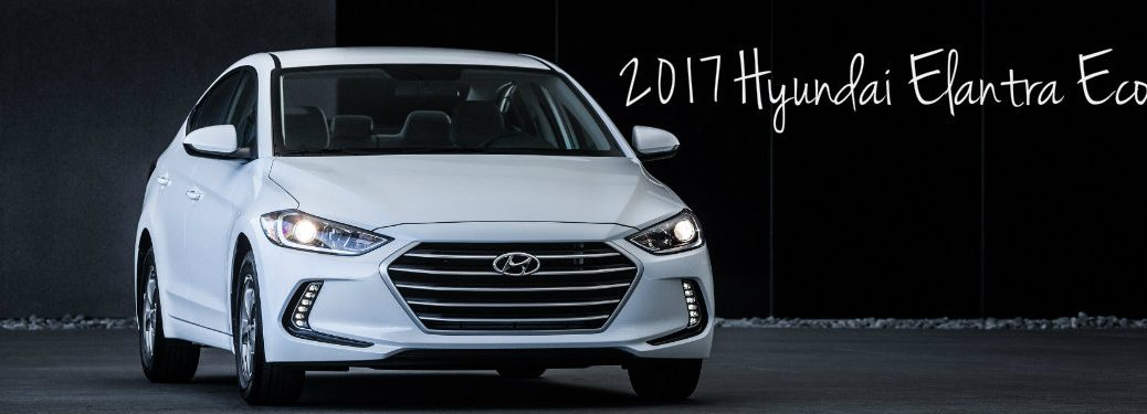 2017 Hyundai Elantra Eco Trim Pricing and Features