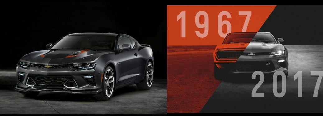 2017 Chevy Camaro 50th Anniversary Edition Release Date