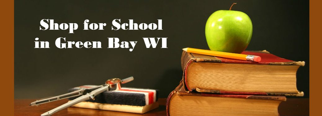Back to School Sales in Green Bay WI