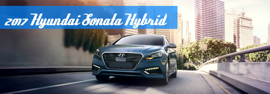 2017 Sonata Hybrid Gets Advanced Standard Tech