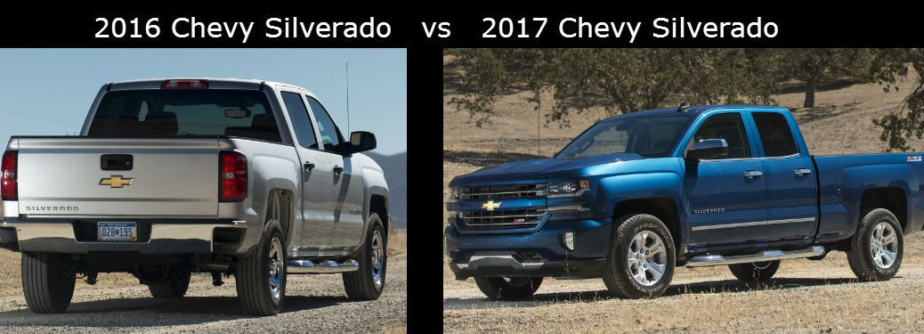 2016 Chevy Avalanche >> 2016 Chevy Silverado Vs 2017 Chevy Silverado
