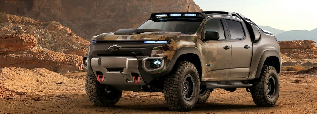Possible Chevy Colorado ZH2 Release Date