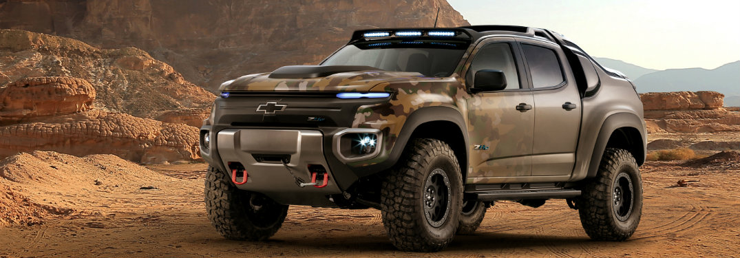 Chevy Colorado ZH2 Fuel Cell Mid-size Truck Pushes the Envelope on Automotive Technology