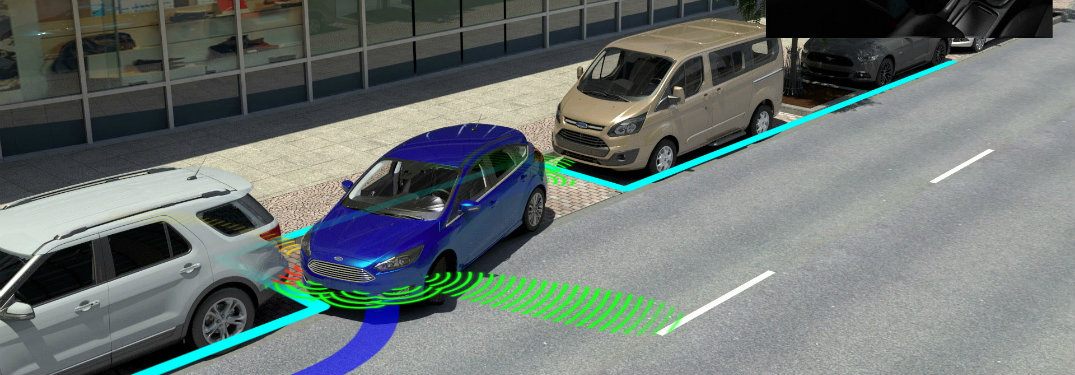 New Ford Driver Assistance Features Offer Even Easier Parking, Crash Avoidance