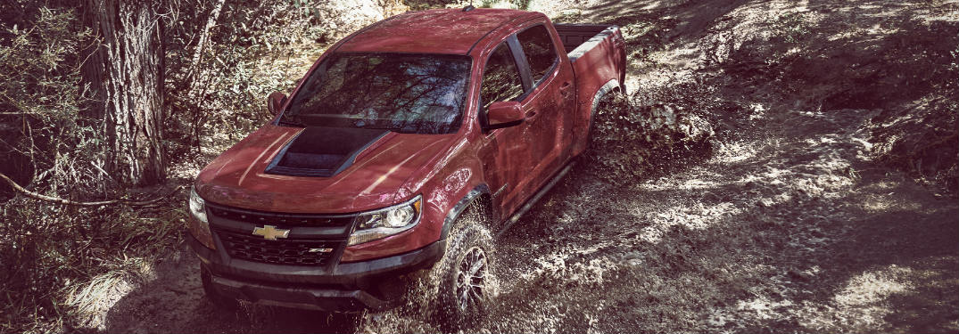 Meet the Off-Road Optimized 2017 Chevy Colorado ZR2