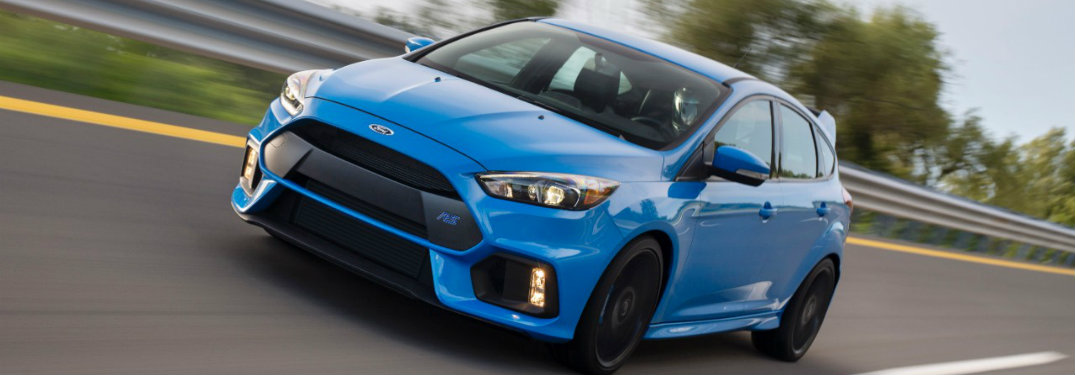 Engine Honors and Other Awards of the 2017 Ford Focus RS