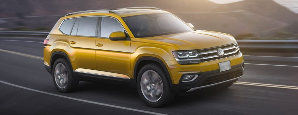 2018 vw atlas exterior yellow