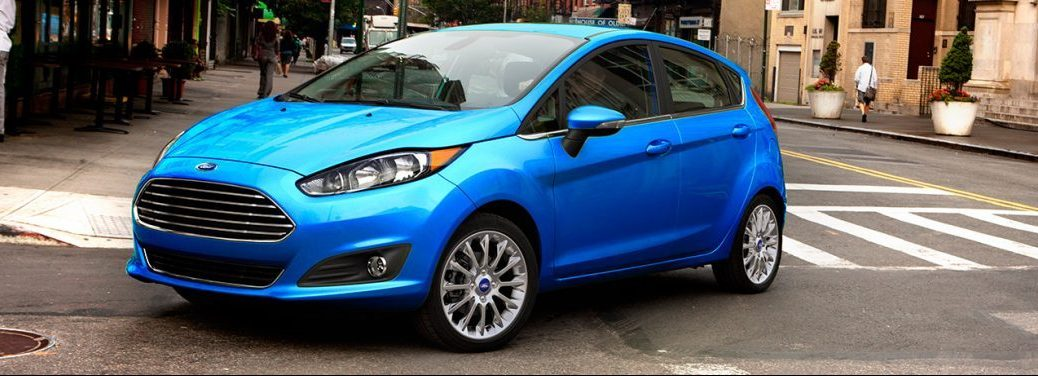 how much cargo space is there inside the ford fiesta ford fiesta