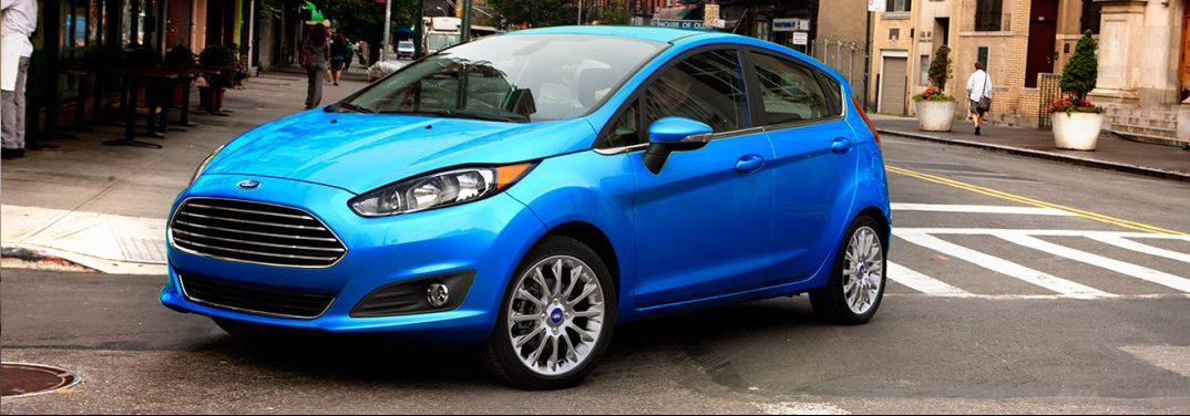 How much cargo space is there inside the Ford Fiesta?