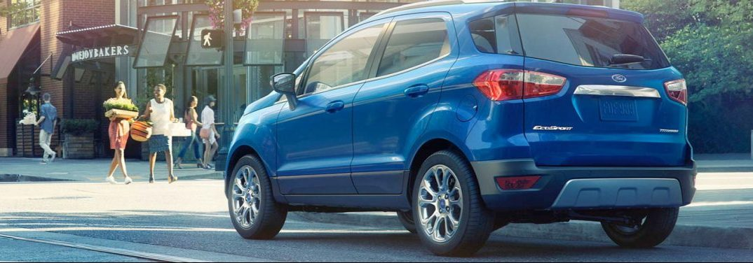 What are the best features in the Ford EcoSport?