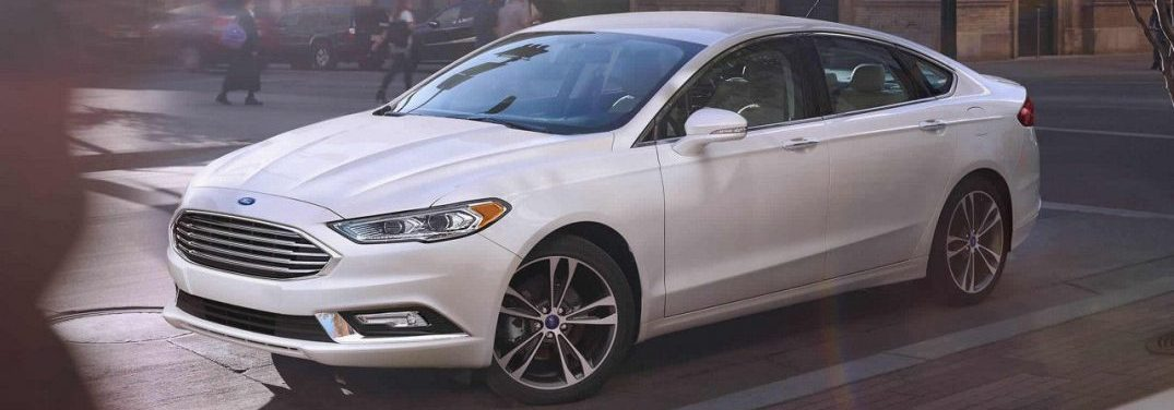 What Colors Does the 2018 Ford Fusion Come In?