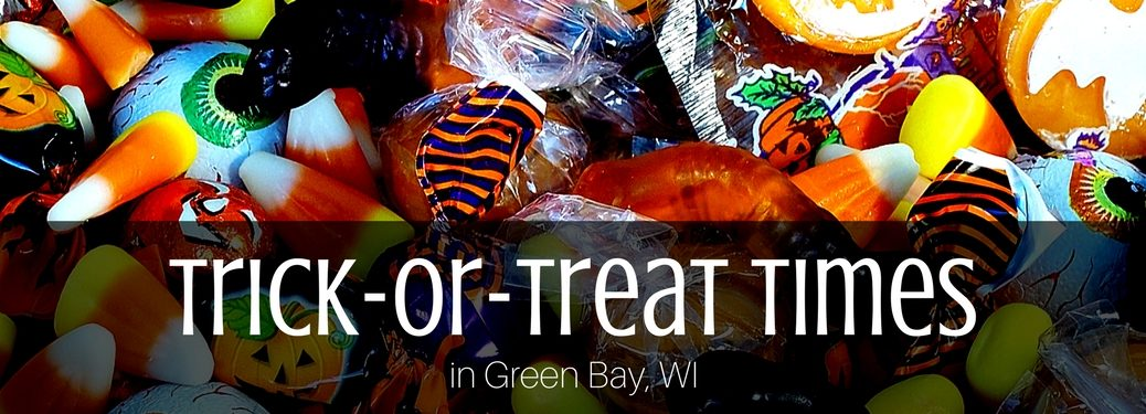 Trick or Treating Times green bay wi