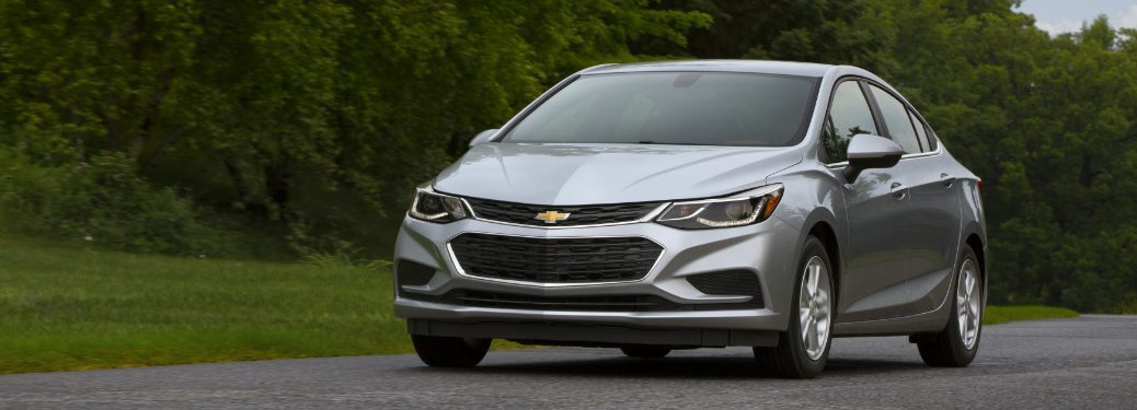 2018 Chevy Cruze front view