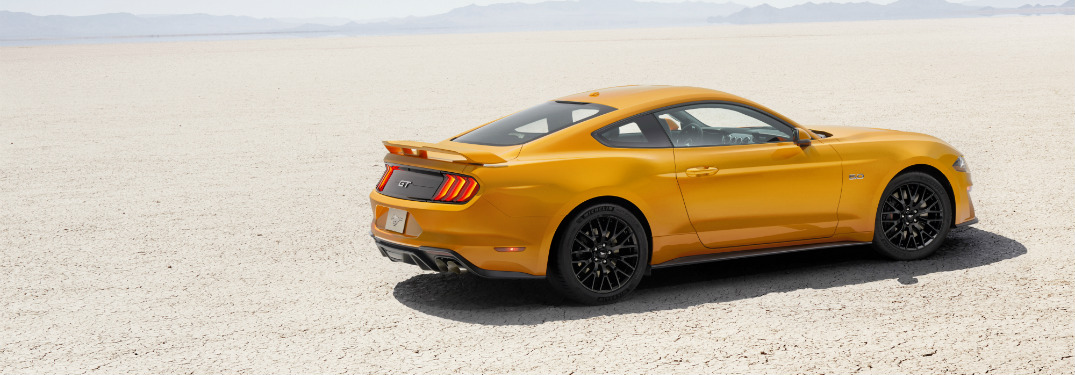 Technology Features of the 2018 Ford Mustang