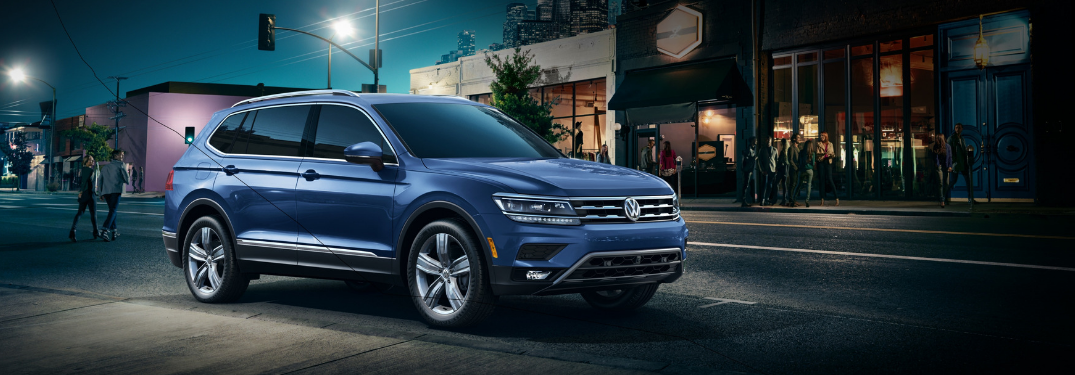 Does the 2019 Volkswagen Tiguan Have a Third-Row?