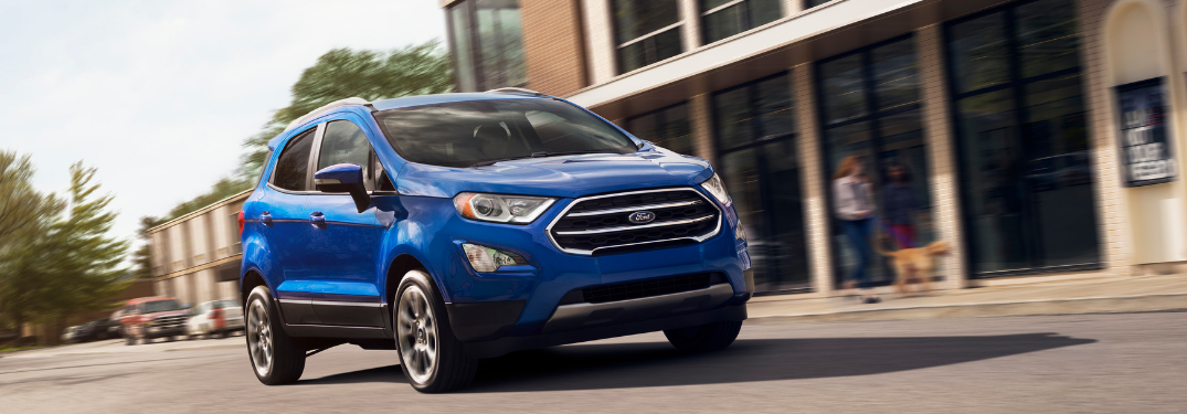 How Efficient is the 2019 Ford EcoSport?
