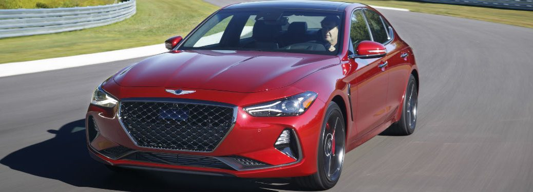 2019 Genesis G70 Exterior Driver Side Front Angle