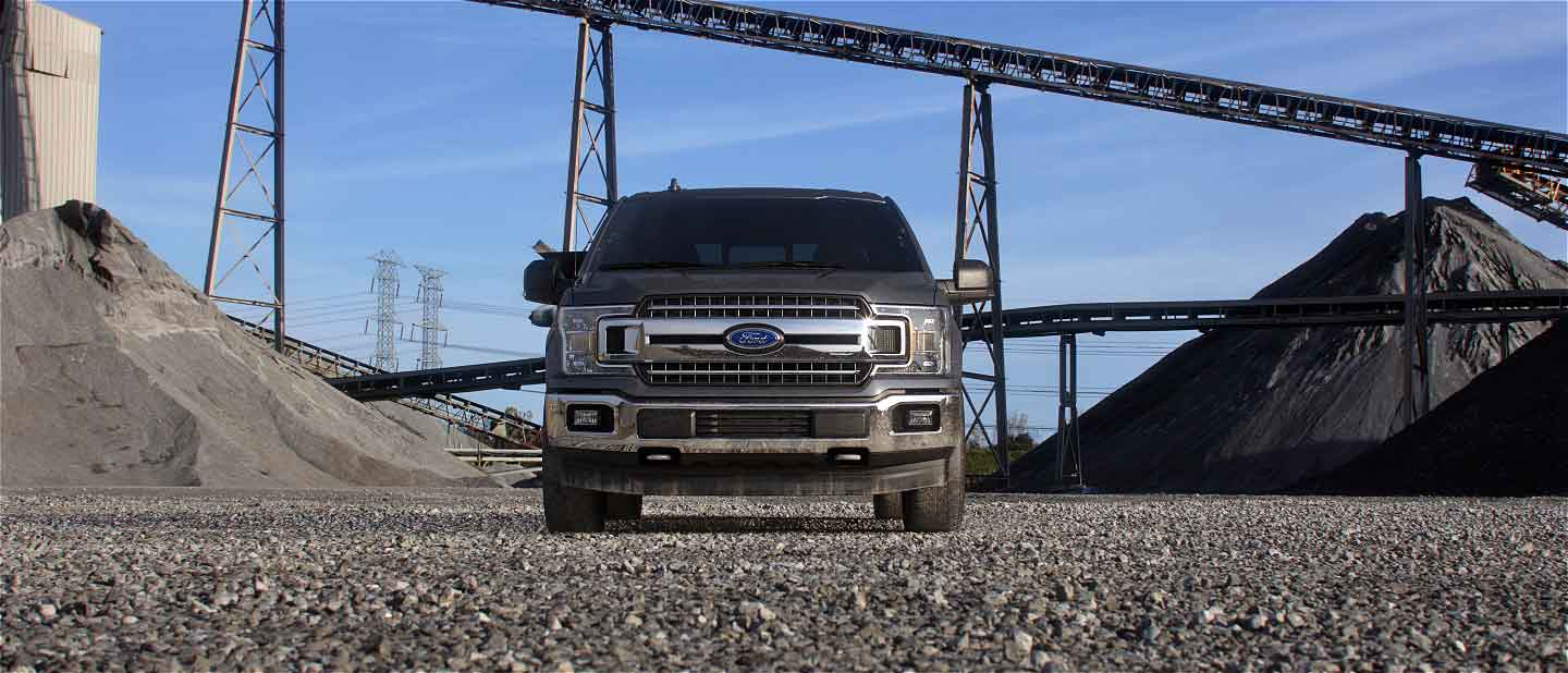 2019 Ford F-150 Exterior Front Abyssal Gray