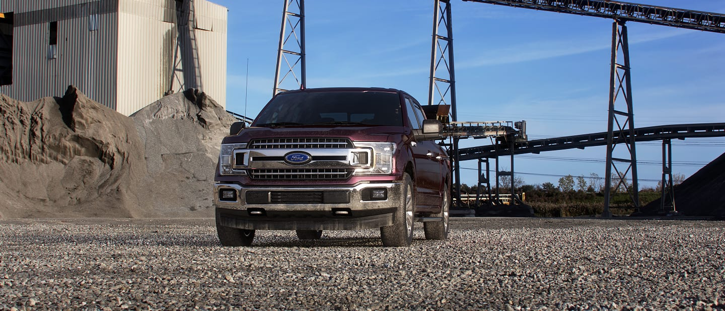 2019 Ford F-150 Exterior Front Magma Red