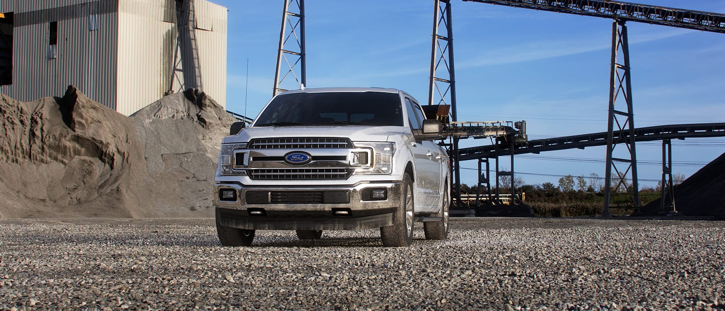 2019 Ford F-150 Exterior Front Oxford White