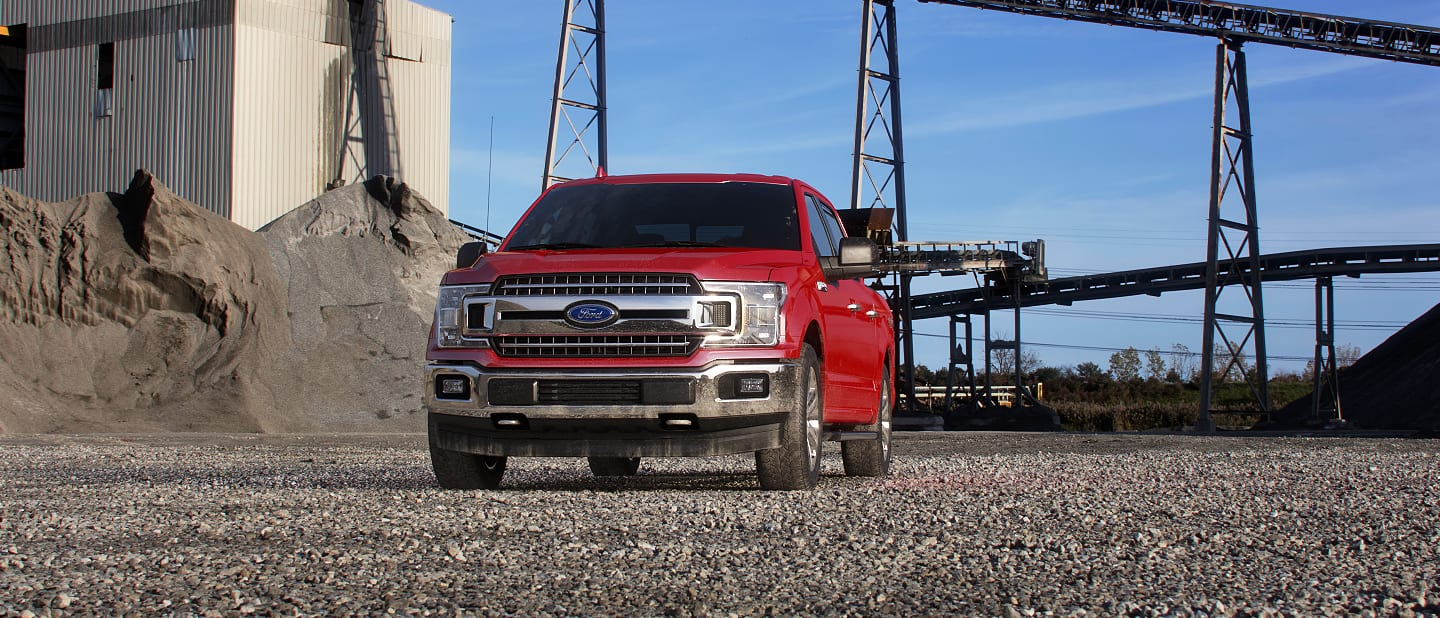 2019 Ford F-150 Exterior Front Racing Red