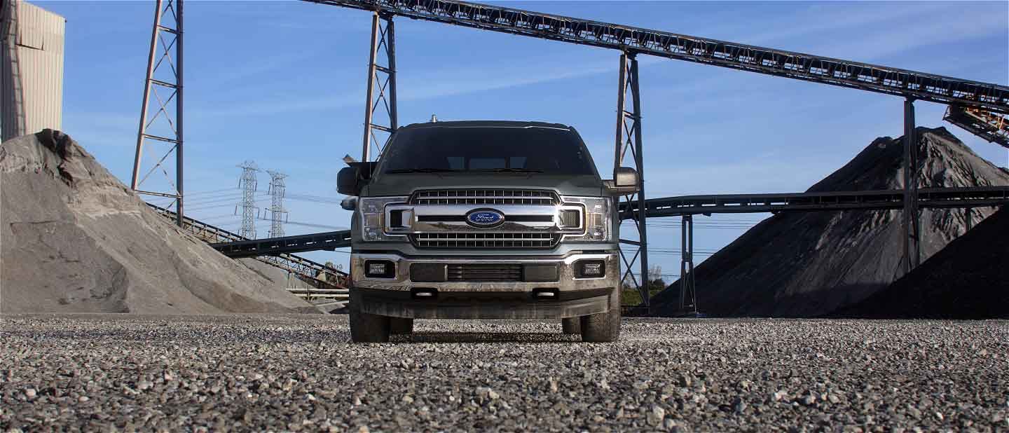 2019 Ford F-150 Exterior Front Silver Spruce