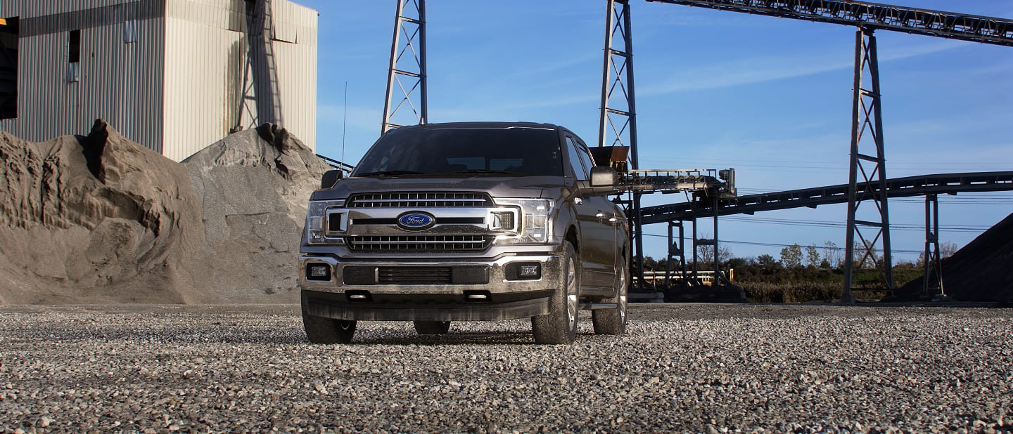 2019 Ford F-150 Exterior Front Stone Gray