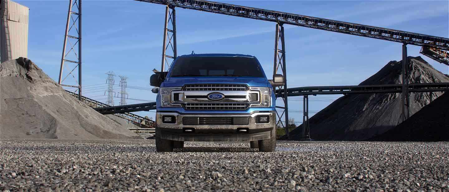 2019 Ford F-150 Exterior Front Velocity Blue