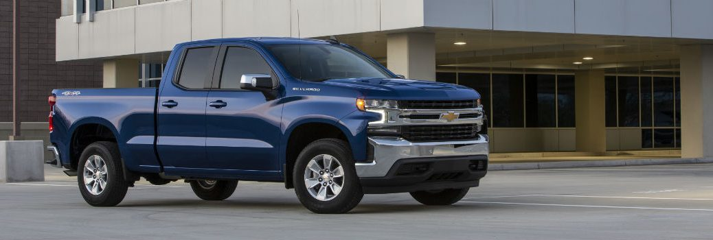 2019 Chevy Silverado 1500 Exterior Passenger Side Front Profile